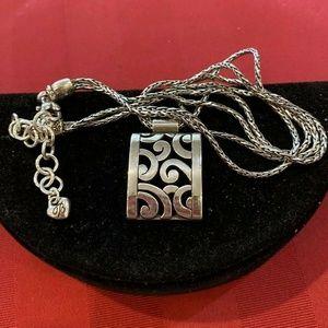 Brighton CONTEMPO Rectangular Pendant Necklace